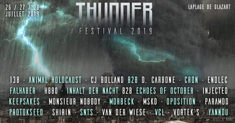 Banniere Thunder Festival 2019