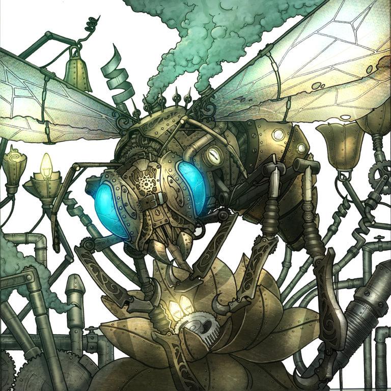 wip nickbee - abeille mécanique