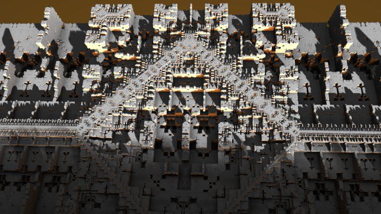 Test fractal 2 sous mandelbullb