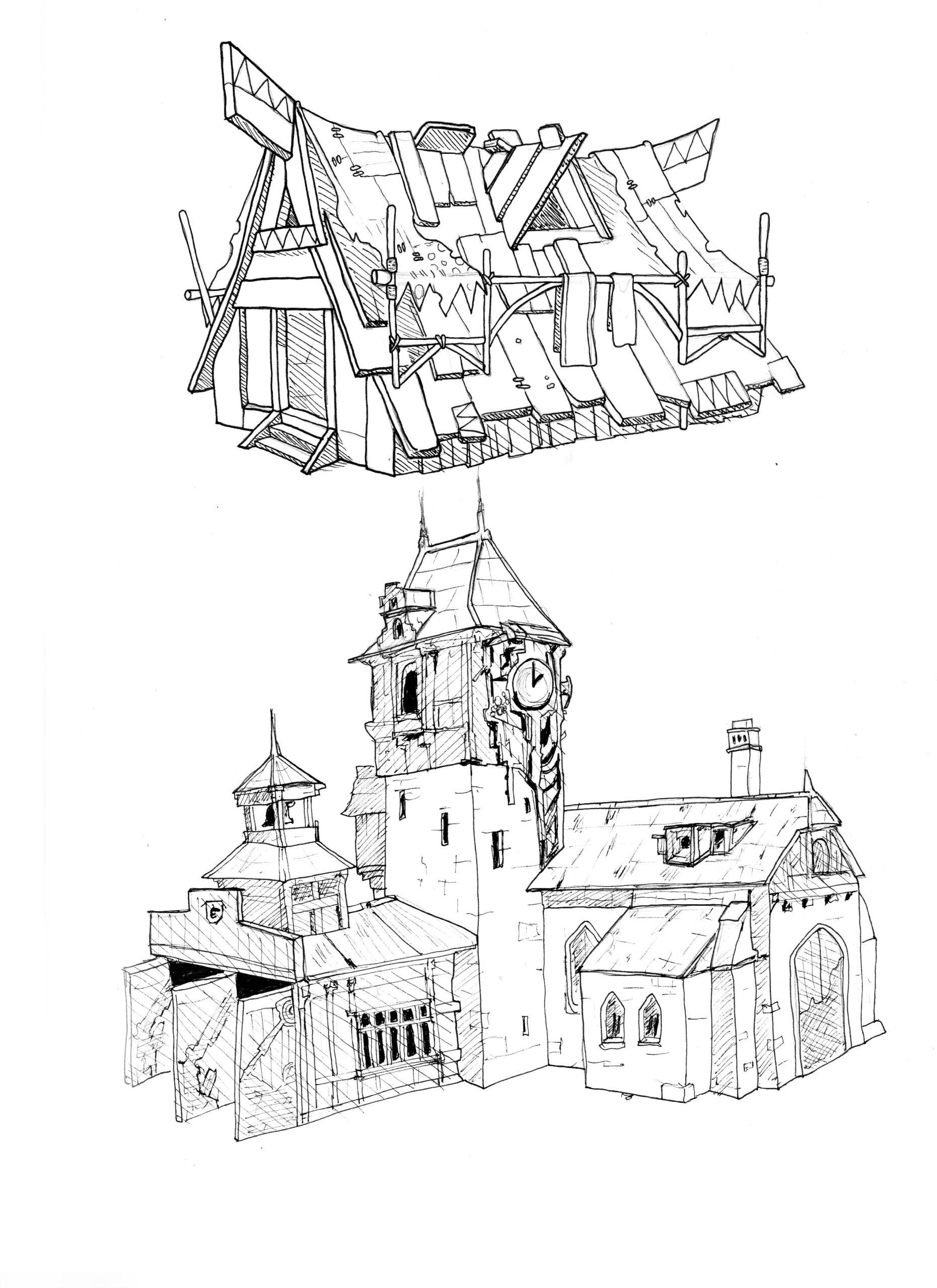 croquis 7 - maison imagination