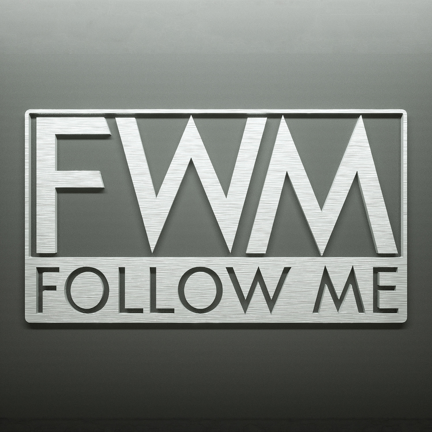logo followme 3D