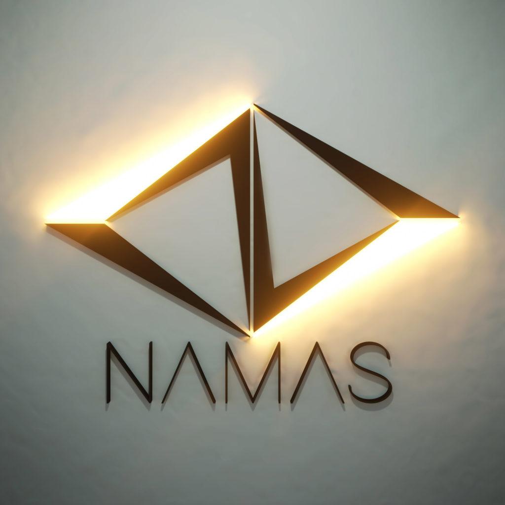 Logo Namas 2018