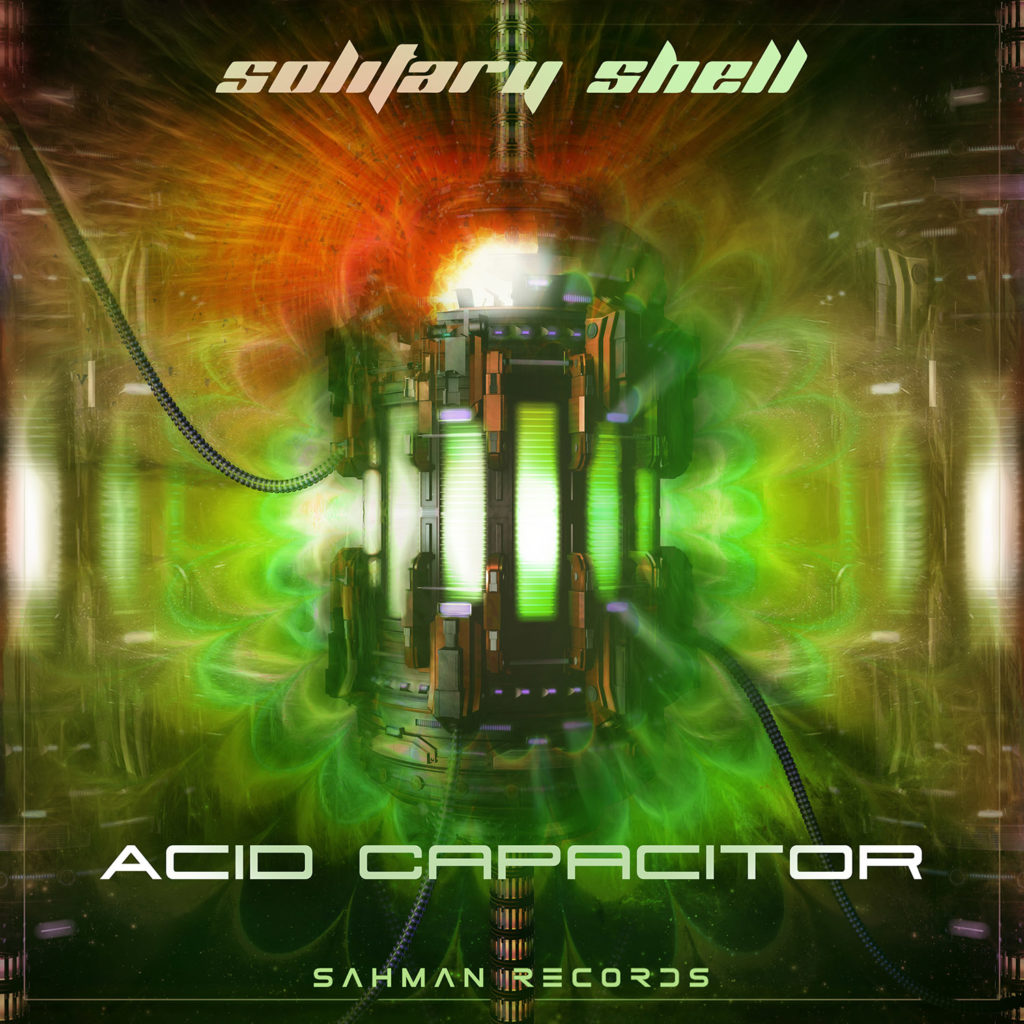 Solitary Shell - Acid Capacitor - Artwork ep 3D et matte painting