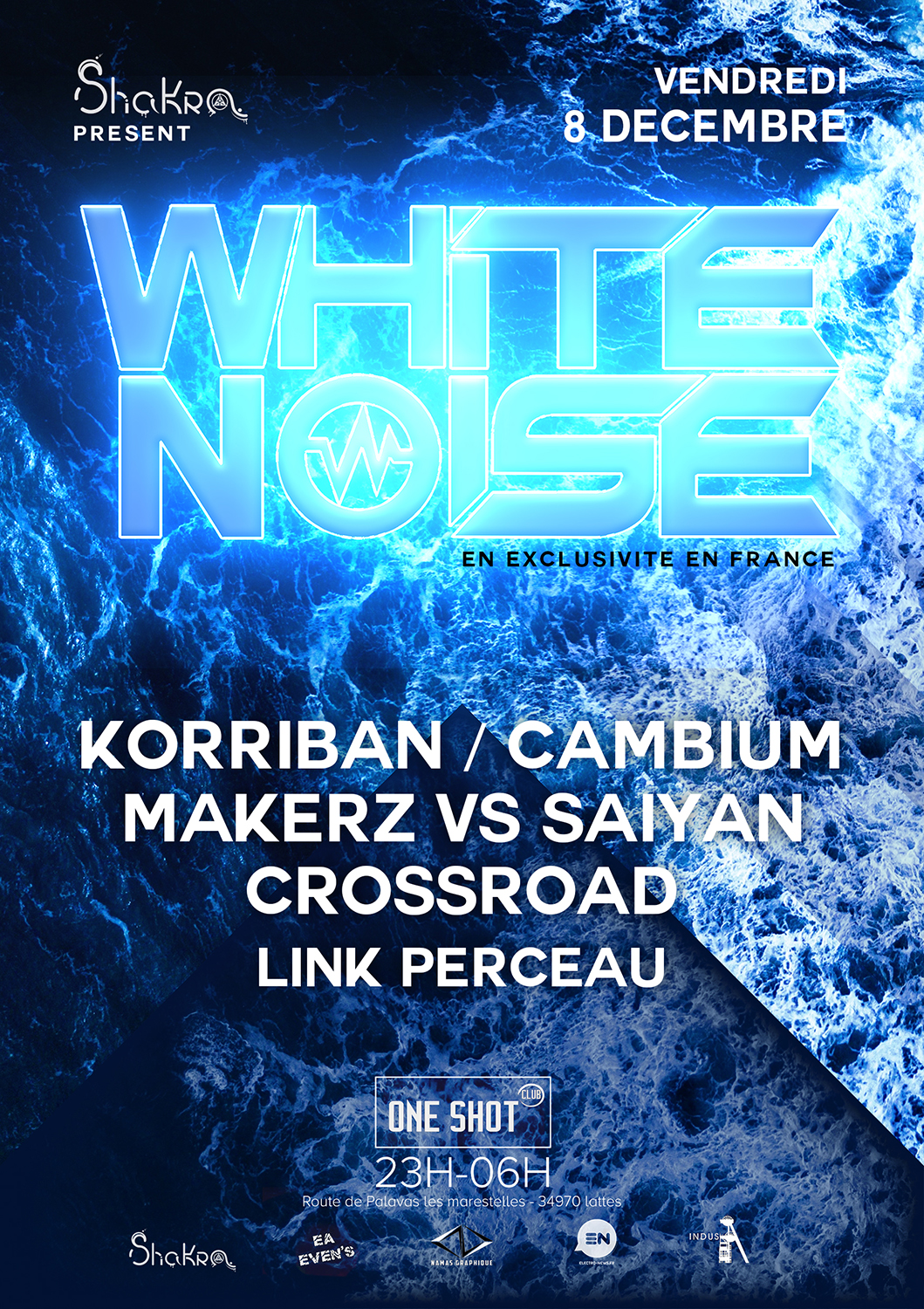 White noise - affiche, illustration