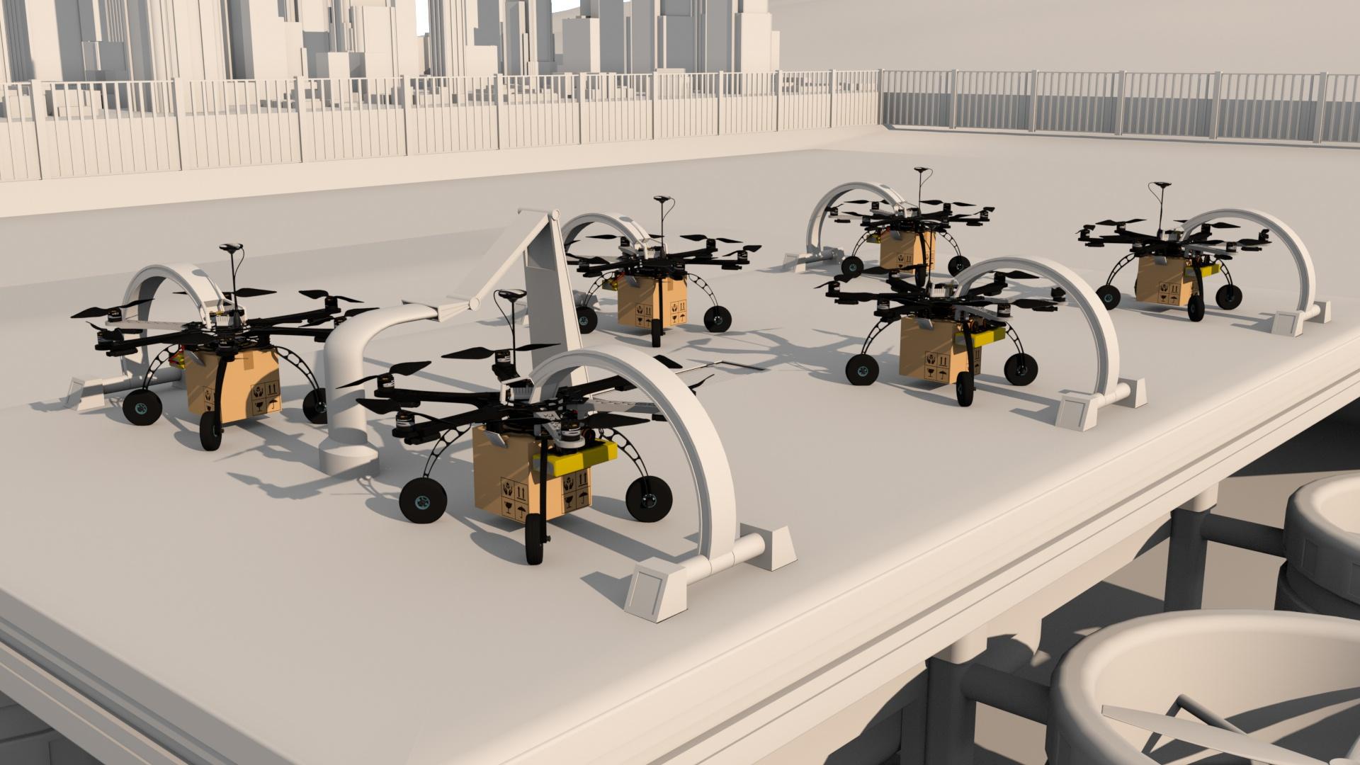 plateforme drone - wip asbridge 3