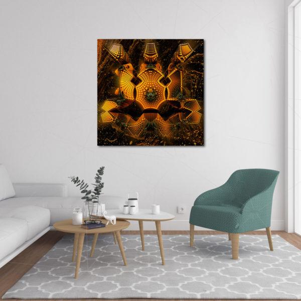 Fractal Coral - Impression toile