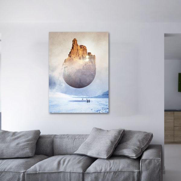 Overworld - impression acrylique et aluminium